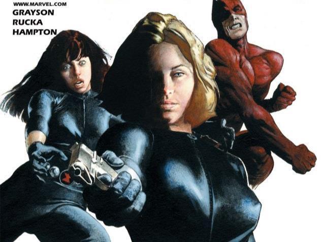 Dettaglio della cover di Black Widow #1