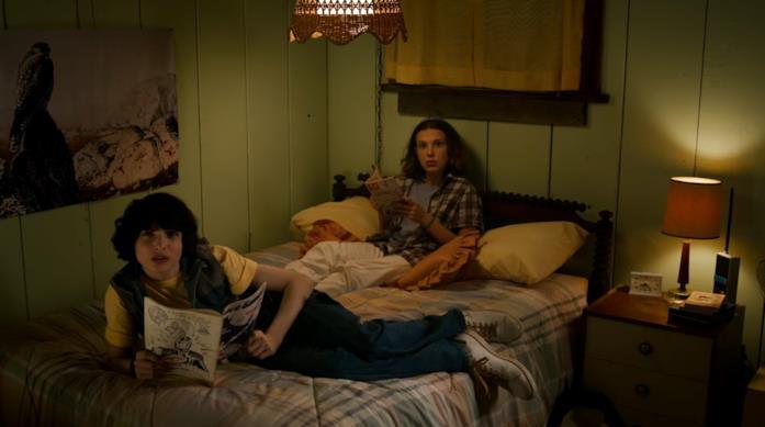 Mike ed Eleven in camera di lei