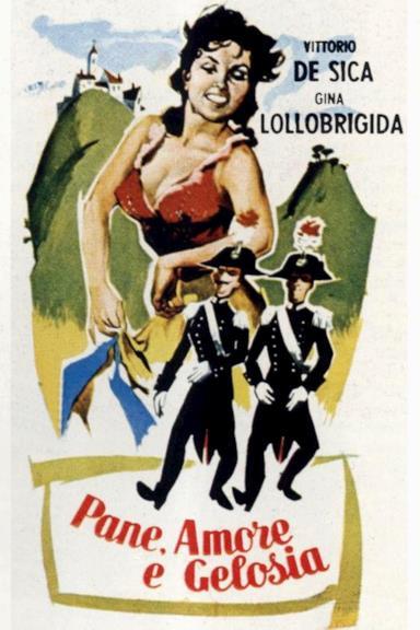 Poster Pane, amore e gelosia