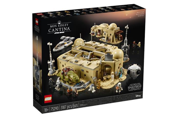 La scatola della LEGO Star Wars Taverna Mos Eisley