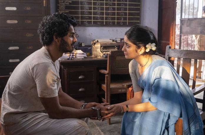 Ishaan Khattar e Tanya Maniktala in una scena della serie Il ragazzo giusto