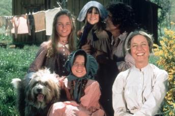La famiglia Ingalls, protagonista de La casa nella prateria