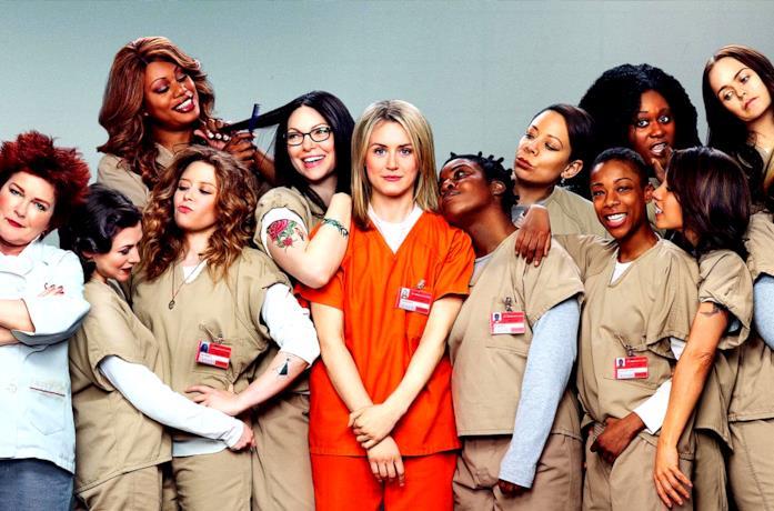 Il cast di Orange is the new Black