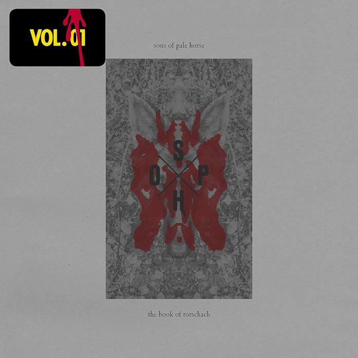 La copertina del vinile di The Book of Rorschach