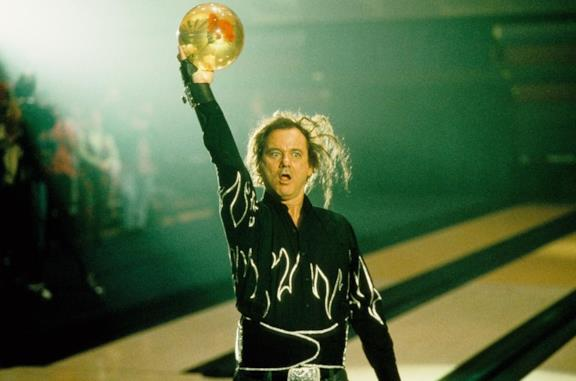 Bill Murray in una scena del film Kingpin