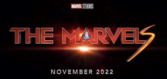Il logo di The Marvels