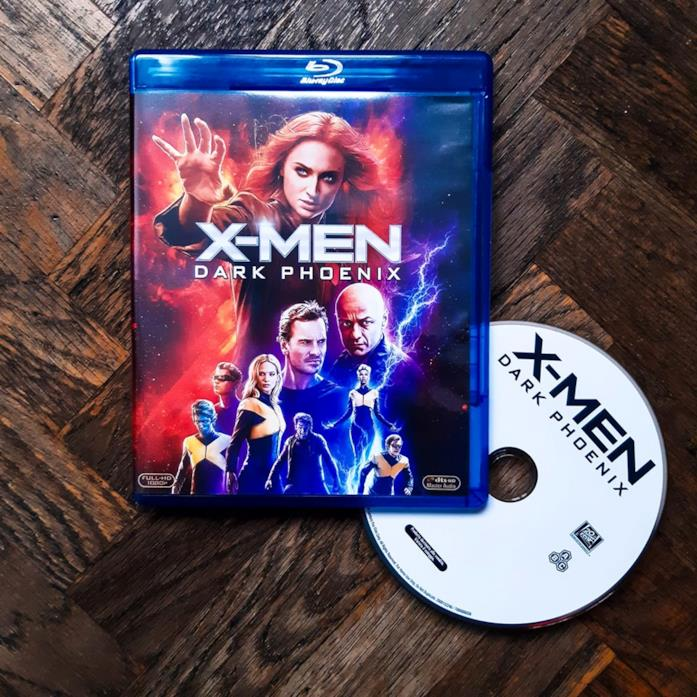 Il Blu-ray di X-Men: Dark Phoenix