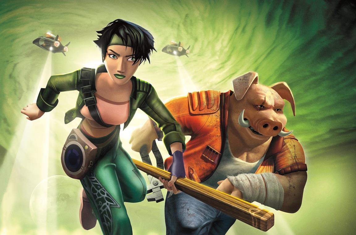 Un'immagine di Jade e Pey'j
