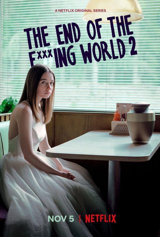 Il poster della seconda stagione di The End of the F***ing World