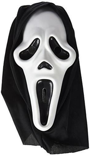Rubie's Rubies – Maschera Scream con Cappuccio, Taglia Unica Spain S5092
