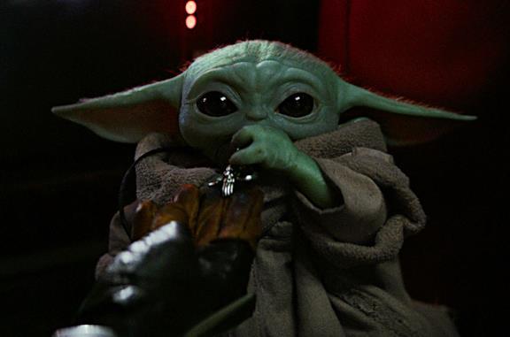 Il bambino di The Mandalorian, detto anche Baby Yoda