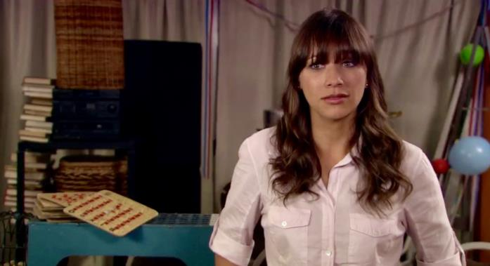 Rashida Jones in un episodio Parks and Recreation