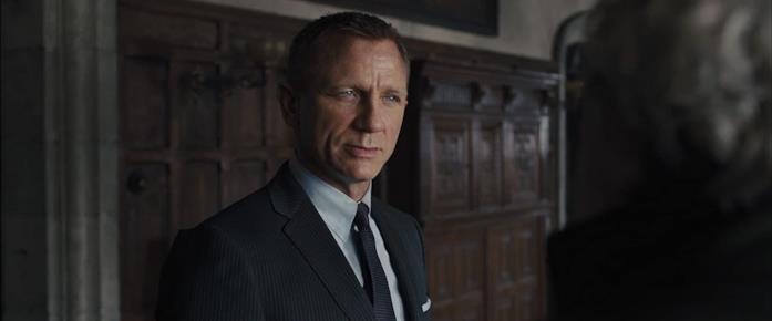 Daniel Craig, protagonista di Skyfall