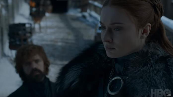 GoT 8x04: Sansa e Tyrion a Grande Inverno