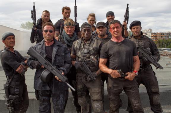 I mercenari 3: gli attori di un cast all star, da Stallone a Ford