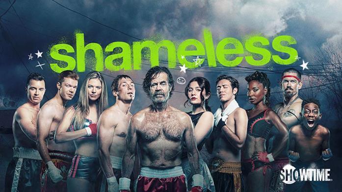 Shameless il cast per la cover promozionale