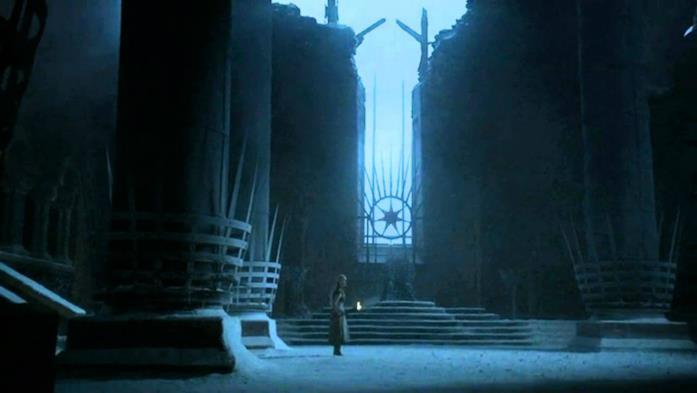 La visione di Daenerys in Game of Thrones 2
