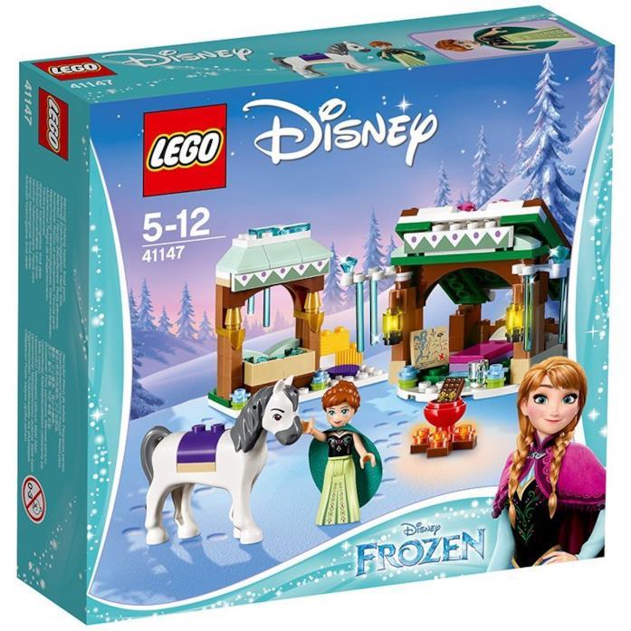 Dettagli del box L'avventura sulla neve di Anna di LEGO
