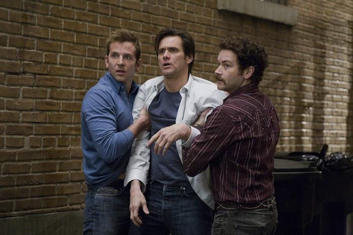 Bradley Cooper, Jim Carrey e Danny Masterson