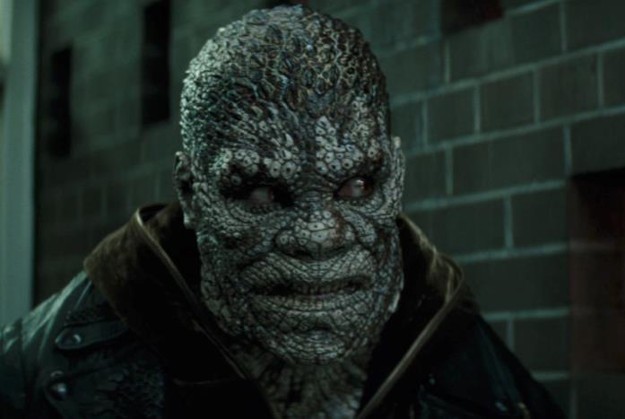 Killer Croc in una scena di Suicide Squad