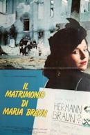 Poster Il matrimonio di Maria Braun