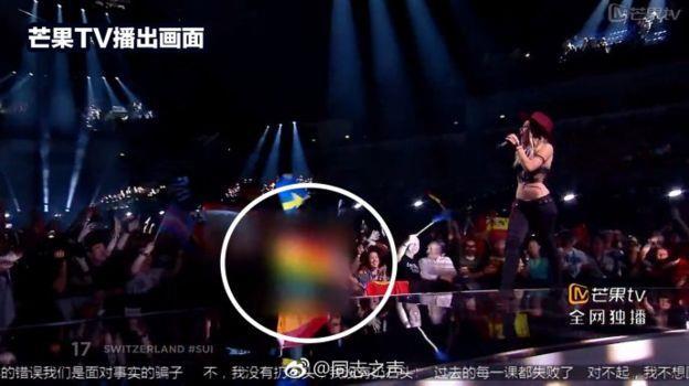 Mango TV oscura la bandiera LGBTQ+