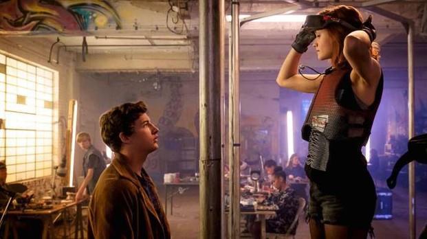 Una scena dal film Ready Player One