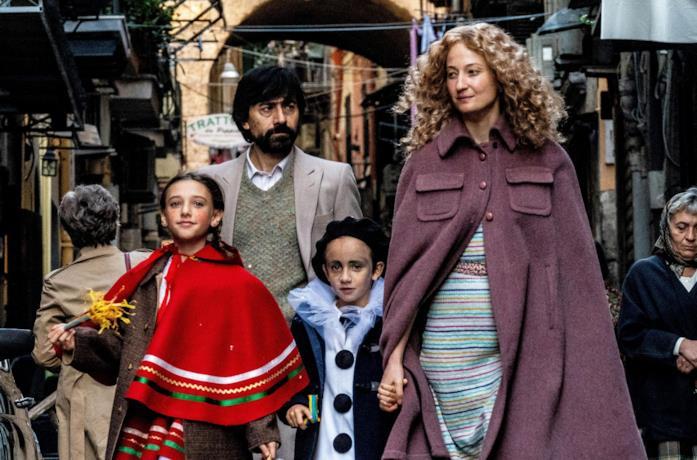 La famiglia protagonista del film Lacci