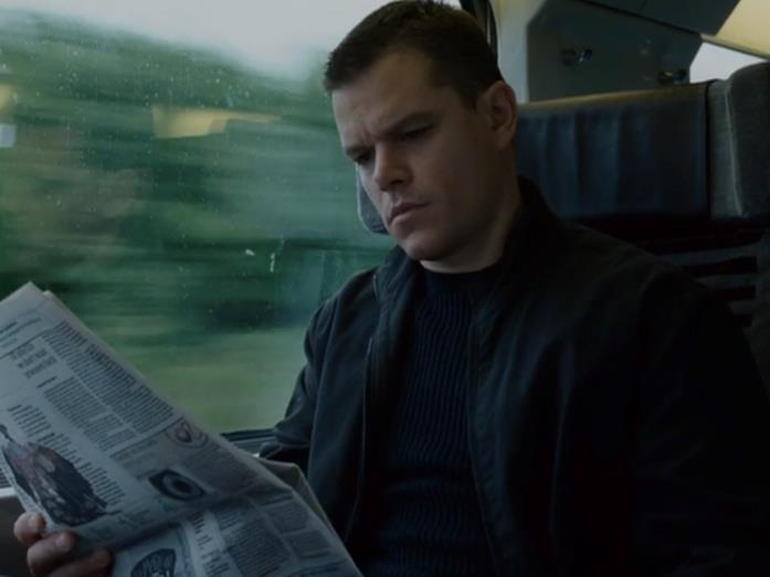 Matt Damon in The Bourne Ultimatum - Il ritorno dello sciacallo