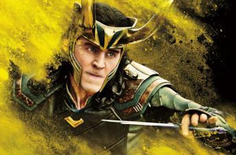 Tom HIddleston è Loki in un'immagine promozionale per Thor: Ragnarok