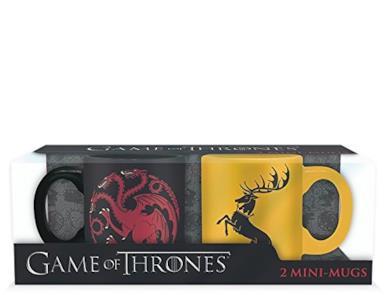 Set 2 Tazze Targaryen e Baratheon