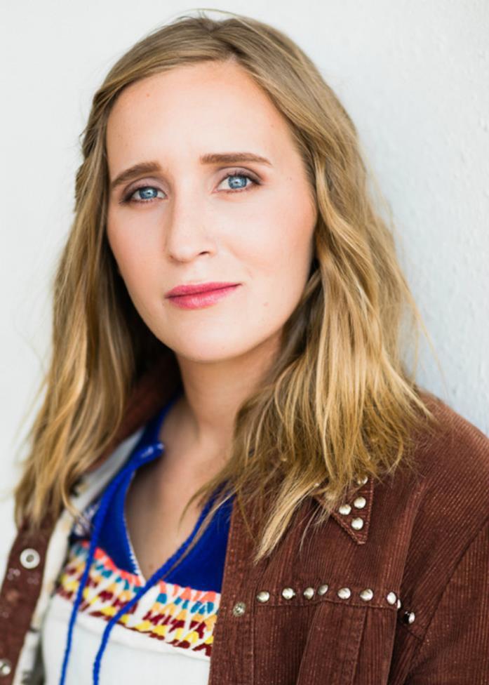 Sarah Tither-Kaplan in primo piano