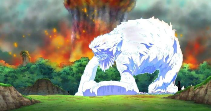 Sauro muore per mano del collega e amico Aokiji