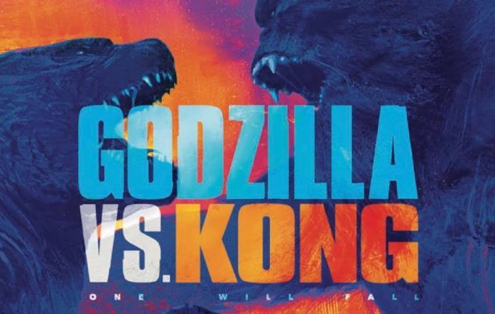 Il poster di Godzilla vs. Kong