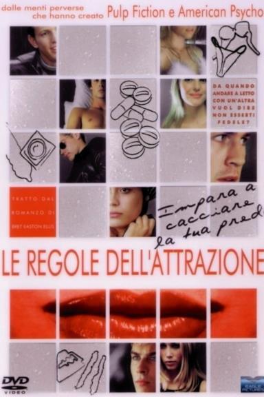 Poster Le Regole Dell'Attrazione