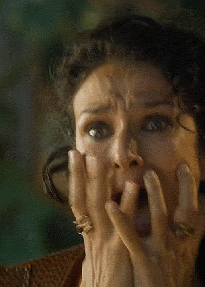 Ellaria Sand assiste alla morte della Vipera