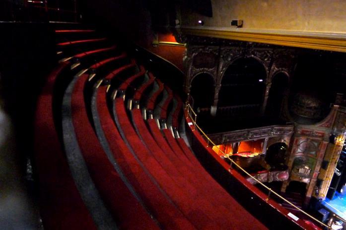 Hackney Empire Theatre, uno dei set del film