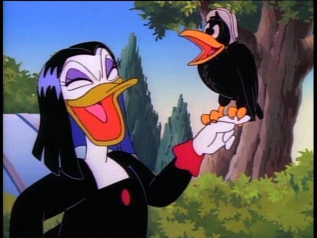 Amelia è tra i cattivi principali di DuckTales
