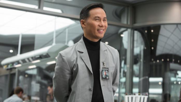 B.D. Wong nel ruolo di dottor Henry Wu