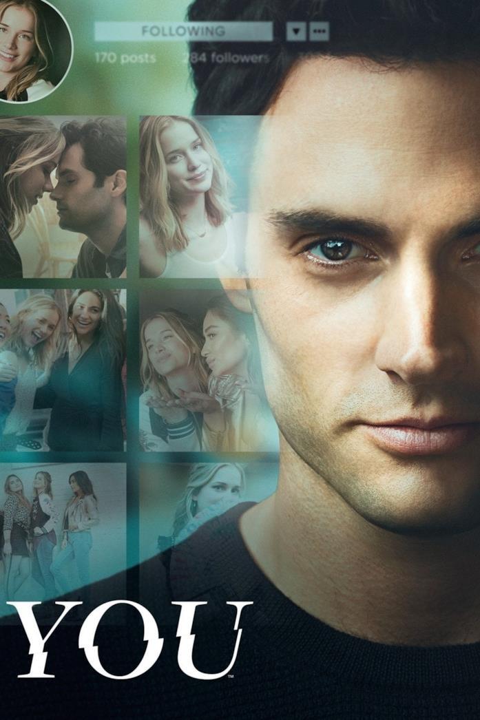 Il poster della stagione 1 di You