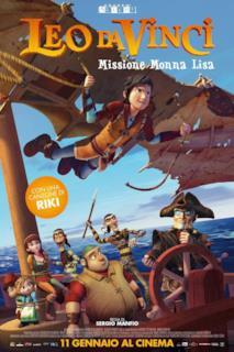 Poster Leo Da Vinci - Missione Monna Lisa
