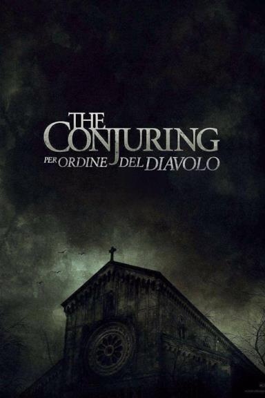 Poster The Conjuring - Per ordine del Diavolo