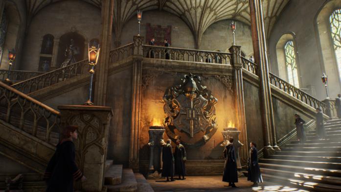 L'interno di Hogwarts