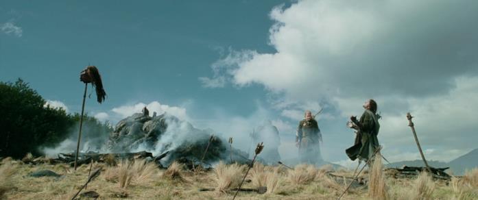 L'agonia di Aragorn nell'urlo di vero dolore di Viggo Mortersen