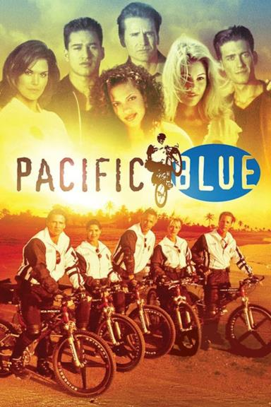 Poster Pacific Blue