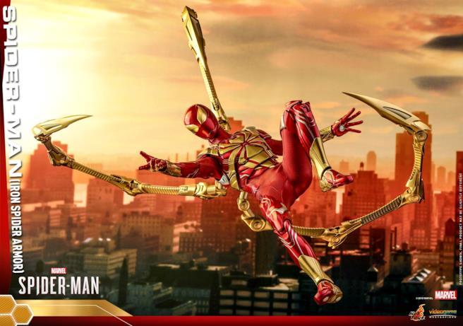 Iron Spider in una speciale posa