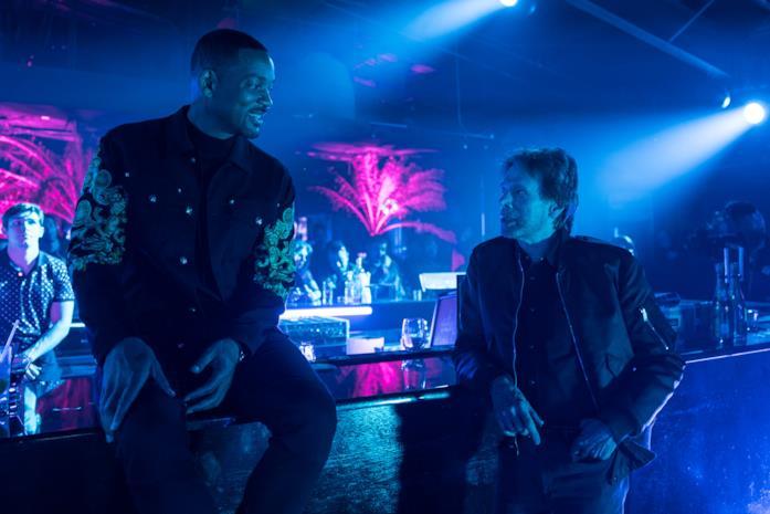 Will Smith e Michael Bay in una scena di Bad Boys for Life