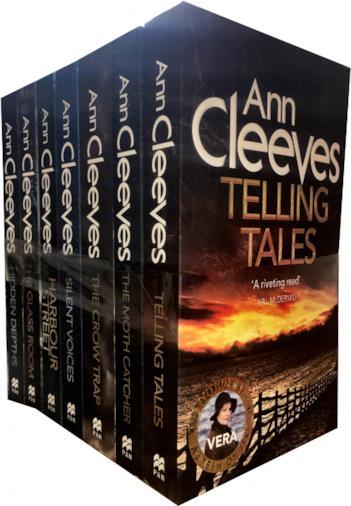 La collezione di 7 libri di Ann Cleeves