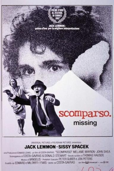 Poster Missing - Scomparso