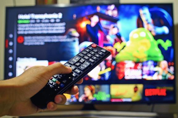 Netflix su una TV